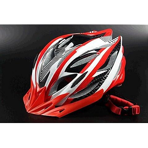 TKWMDZH® Road bike ultra leggero stampaggio etichette logo casco equitazione casco , 4