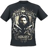 Guardians of the Galaxy 2 - Star Lord - Shield T-Shirt schwarz XXL