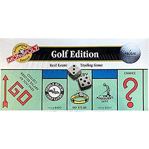 The GOLF EDITION of the MONOPOLY Game by Monopoly