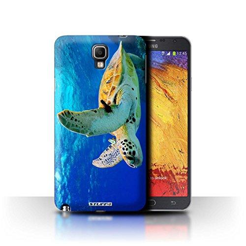 Stuff4 Hülle / Hülle für Samsung Galaxy Note 3 Neo / Schildkröte Muster / Wilde Tiere Kollektion