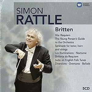 Simon Rattle Edition - Britten (5CD)