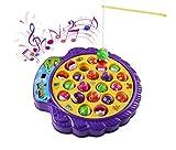 Genonaute Kinder Spielzeug Creative Drehen Musik Spielzeug Spielfeld mit Angeln und Fische