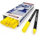 Edding - OMG Edding 4200Porzellan-Stift–1–4mm, 10Stück, gelb, 5