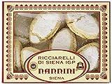 Pasticcerie Nannini Ricciarelli di Siena IGP mit Mandel, 1er Pack (1 x 250 g)