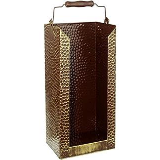 Kamino-Flam – Cubo para leña, Cesta para carbón, Contenedor para leña, Cajón de almacenamiento, Caja para almacenar leña y carbón – 20/15/40 cm