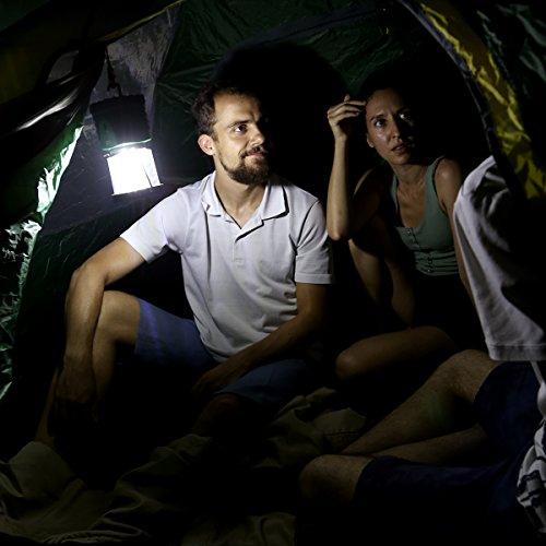 LLE 500lm Laterne Superhell COB LED Campinglampe 3 Helligkeitsstufe