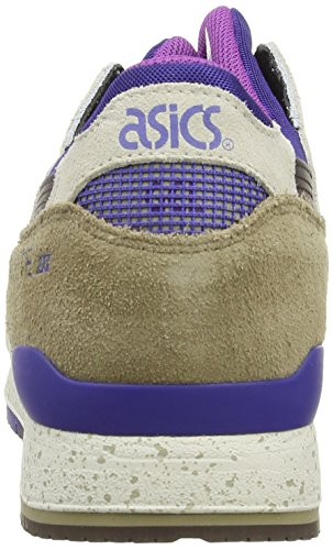 Asics  Gel-Lyte III, Scarpe sportive, Unisex - adulto Light Brown/Dark Brown 6062