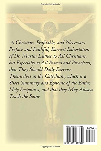 Image of The Large Catechism by Dr. Martin Luther