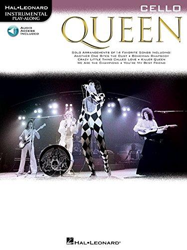 Queen - Cello (Book/Audio) (Instrumental Play-along)