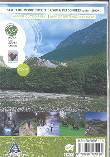 Parco del monte Cucco. Carta dei sentieri 1:25.000. Ediz. inglese (Sotto uno stesso cielo. Cartografia)