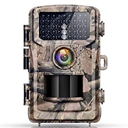Campark Trail Wildlife Camera Trap 14MP 1080P Wild Hunting Cam Infrared Motion Activated Night Vision IP56 Waterproof for Outdoor Field Home Security