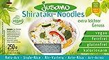Jusano Shirataki Rice I Konjak-Reis aus Konjakmehl I Vegan I Glutenfrei I Kalorienarm I 5er Pack (5 x 250 g)