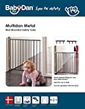 Baby Dan Multidan Metall Tür und Treppenschutzgitter, 62.5 – 106.8 cm, schwarz - 4