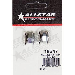 ALLSTAR PERFORMANCE ALL18547 Threaded Nut Insert Steel 2pk by Allstar
