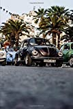 Volkswagen Beetle VW Rally Notebook: Journal Paper Composition Notebook