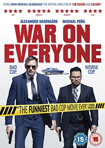 war-on-everyone-dvd