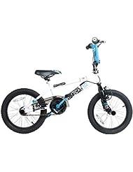 """Rooster Radical Vélo BMX avec rotor et repose-pieds 16"""""""