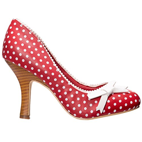 Dancing Days High Heel Pumps - String of Pearl Rot 38