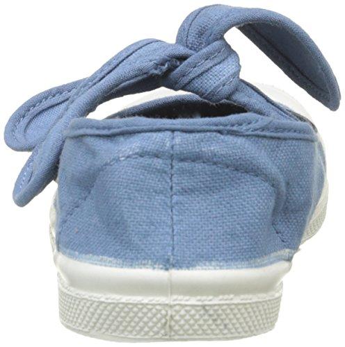 Bensimon Tennis Flo, Baskets Basses Mixte Enfant Bleu (563 Denim)
