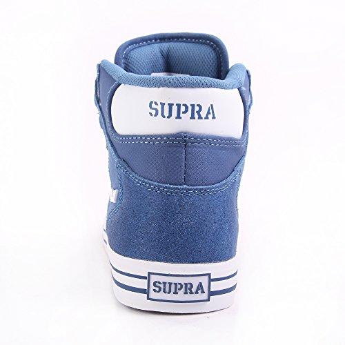 Supra  VAIDER, Baskets hautes mixte adulte Bleu