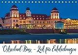 Ostseebad Binz - Zeit für Erholung (Tischkalender 2019 DIN A5 quer): Binz - Die Inselschönheit auf Rügen (Geburtstagskalender, 14 Seiten ) (CALVENDO Orte)