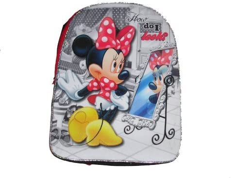 Disney Minnie Mouse Girls School Full Size Backpack 16 x x x 12 | Matériaux De Grande Qualité