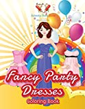 Fancy Party Dresses Coloring Book