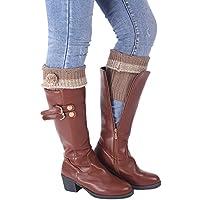 Cubrebotas falso calcetin no mas medias rotas moka pompom borlas NOVEDAD 2018 40 cm montaña pantalones legins vaqueros vestiditos de OPEN BUY