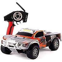 Dazhong WLtoys 1:18 scala 2.4G 4WD RTR ad alta velocità Off-Road Car RC Racing, ad alte prestazioni 7.4V litio incorporata veicolo di controllo della batteria con