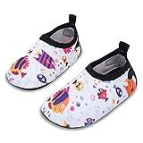 JIASUQI Classic Outdoor und Indoor Sport Wasser Schuhe Casual Strand Sandalen für Baby, Weißer Fisch 0-6 Monate (Herstellergröße : 15/16)