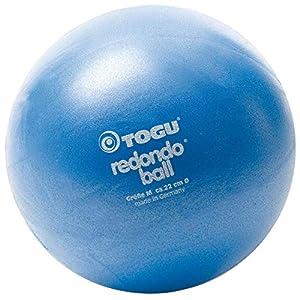 TOGU Redondo Ball 22 cm Gymnastikball Pilatesball, blau