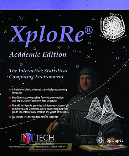 XploRe, Academic Edition, 1 CD-ROM The Interactive Statistical Computing Environment. For Windows 95/98/NT