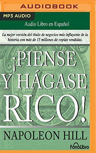 Portada del libro Piense y Hagase Rico (Think and Grow Rich)
