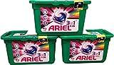 Ariel 3in 1Wasch-Kapseln Liquidtabs für 12Wäschen 3 Packungen multi