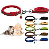 Nylon Reflective Safe Pets Collar Breakaway Safety Cat Dog Puppy Kitten Collars With Bells (Purple)