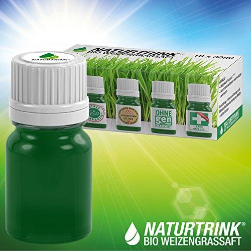 Naturtrink - Bio Weizengrassaft (kein Pulver) 10 Wochen-Kur
