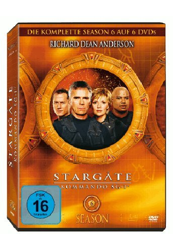Stargate Kommando SG 1 - Season 6 Box (6 DVDs)