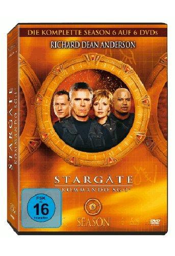 Stargate Kommando SG 1 - Season 6 Box (6 DVDs)