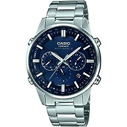 Casio Reloj Analógico de Cuarzo Unisex con Correa de Acero Inoxidable – LIW-M700D-2AER