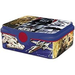 Box Colazione Star Wars DECOR Scatola Spuntino Lunchbox Portamerenda Porta SANDWICH Bambini Scuola