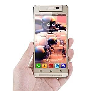 TIMMY M9 5.0 '' Smartphone 3G Caméra Tournante Android 4.4 MTK6582 1.3MHz Quad-Core Téléphone Portable Dual SIM Mobile OTG Puce Intelligente de Wake Gestes
