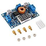 Funzione di spegnimento termico integrata ad alta efficienza DC-DC Convertitore regolabile step-down Modulo di alimentazione Voltmetro da 40 V 5A 75 W