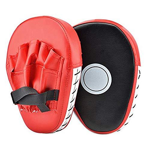 Gaodaweian 2 UNIDS PU Cuero Perforado Kick Pad Gancho Y Boxeo Mat Boxer Target Focus Guantes De Boxeo Guantes De Boxeo Guantes De Boxeo Entrenamiento De Flexión Karate Combate