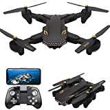 YMXLJJ Remote Control Drone Equipped With 2.0 Megapixel Wide-Angle Camera Wifi FPV Collapsible