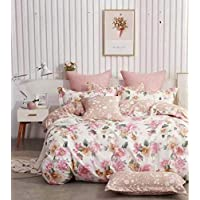 Comfortable Home 6piece King Size Bedding sets queen, 1piece Quilt Cover=220x240cm,1piece Fitted Sheet=250x270cm, 2piece Pillow Cover=50x75cm,2piece Cushion cover=50x50cm//91
