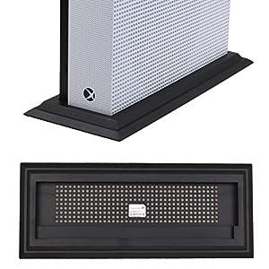 Pandaren Standfuß Vertikalständer für Xbox One S / Slim x 1 (schwarz)