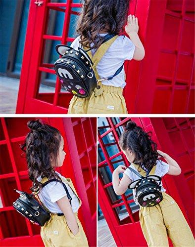 Gli zainhi del mouse del fumetto per i bambini fanno i regali belli dei capretti dei capretti per i sacchetti degli allievi delle ragazze (pink) Black