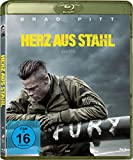 DVD Cover 'Fury - Herz aus Stahl [Blu-ray]