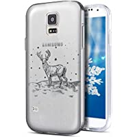 Galaxy S5 Hülle,Galaxy S5 Neo Hülle,Galaxy S5/S5 Neo Silikon Hülle Tasche Handyhülle,SainCat Christmas Weihnachten... preisvergleich bei billige-tabletten.eu