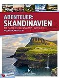 Skandinavien - Wochenplaner 2020, Wandkalender im Hochformat (25x33 cm) - Norwegen, Schweden, Finnland, Dänemark, Island - Wochenkalender mit Rätseln